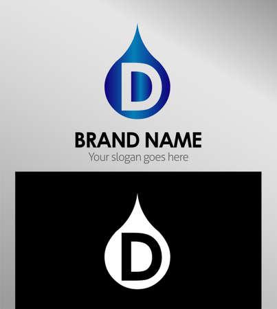 d: Letter D logo