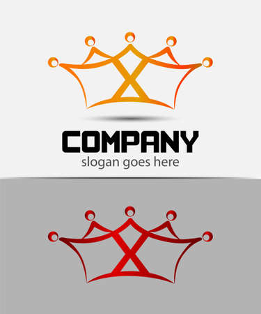 xy: Letter x logo design template Abstract
