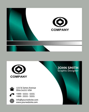 carte visite: business card