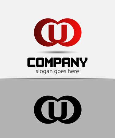 alphabetical: Alphabetical Logo Design Concepts. Letter U
