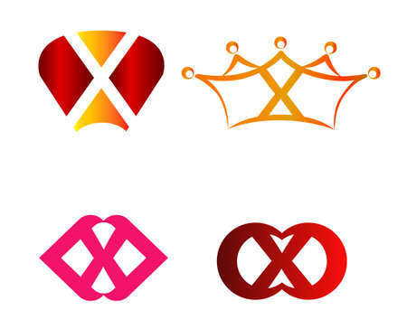 xy: X logo set