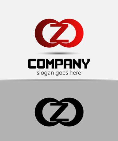 typesetter: Alphabetical Logo Design Concepts. Letter Z