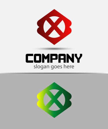 xy: Letter X Logo Design.Creative Symbol of letter X Illustration