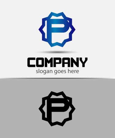 alphabetical: Letter p Alphabetical Logo Design Concepts