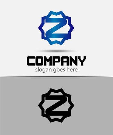 typesetter: Letter z Alphabetical Logo Design Concepts
