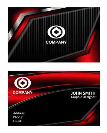 card: Name card - Card visit