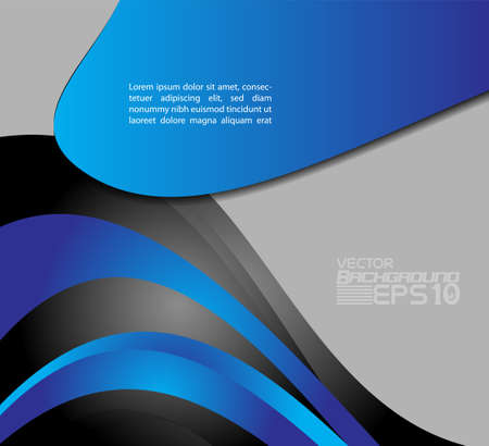 glossiness: Blue background design with space for message
