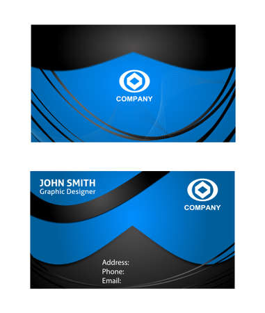 name calling: Abstract business card