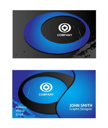 iq: Business cards Illustration