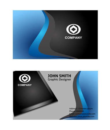 business card: Business card