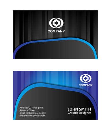 construction companies: Vector business card design template