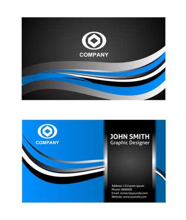 horizontal: Horizontal business card