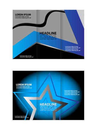 buisness: Corporate Business Tri-Fold Mock up & Brochure Design