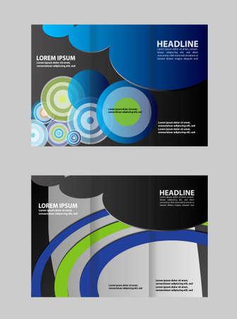 invitation barcode: Tri-Fold Brochure Design