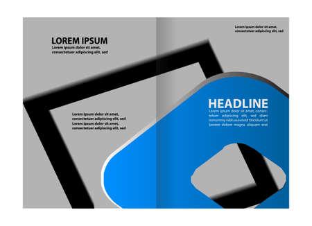 brochure bi fold template