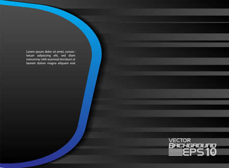 overlap: Blue background vector overlap dimension 3d graphic Illustration