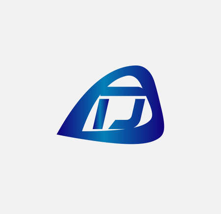 radon: Letter D logo design template