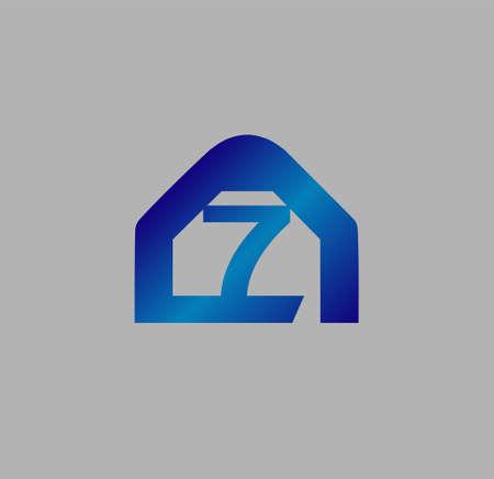 number 7: Vector sign number 7 Illustration