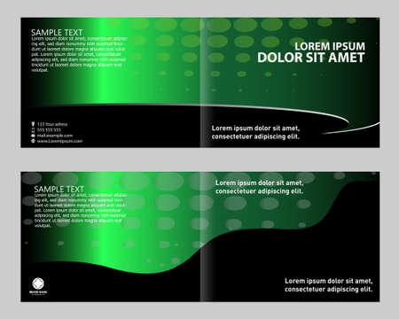 bifold: Bi-fold brochure template set