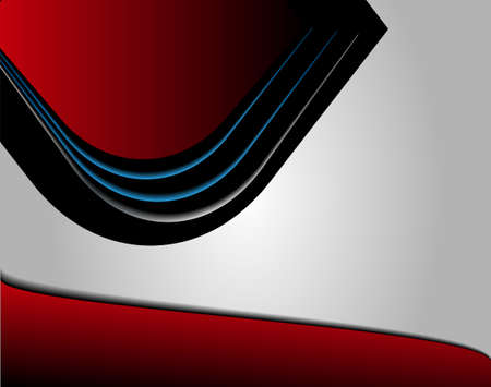 computergraphics: Red abstract background
