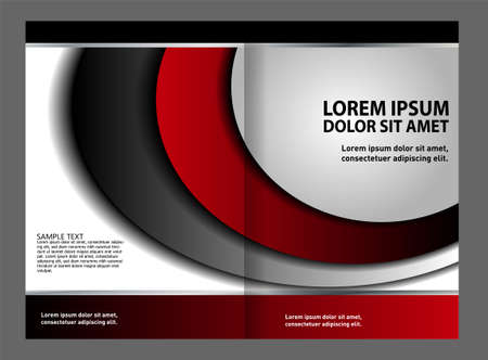 for advertising: Brochure template for advertising