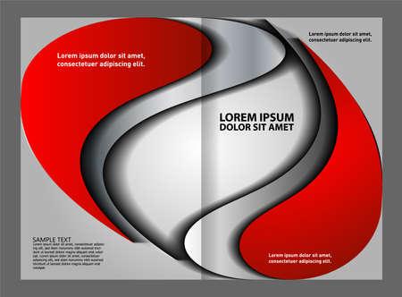 spread sheet: Bi-fold business brochure