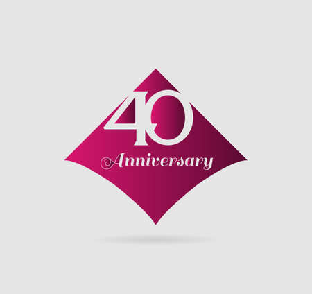 40th: 40th anniversary templates, 30 years anniversary