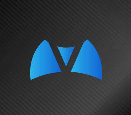 welling: V company logo and symbol Vector Design