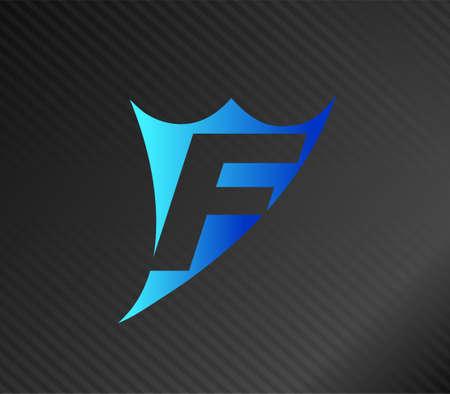 edu: Letter F logo