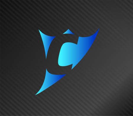 edu: Letter c logo