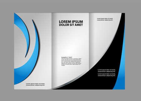 Tri fold brochure template business