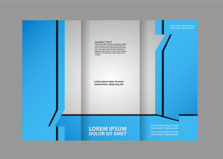 publisher: Tri fold brochure template business