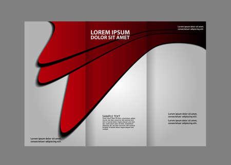 multipurpose: Tri-fold Brochure Multipurpose Vector Design and Catalog Illustration