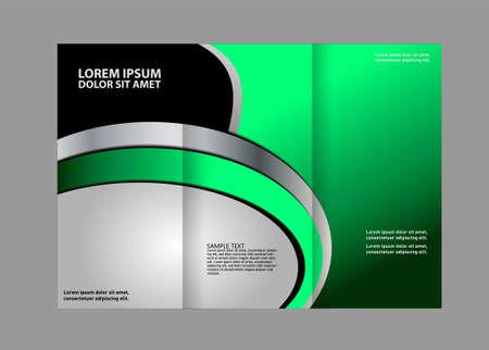 book publisher: Tri-fold Brochure Design Templates and Catalog Vector