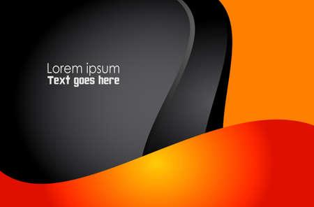 Abstrakt orangefarbenen Hintergrund
