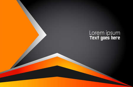 fondos: Abstract orange background