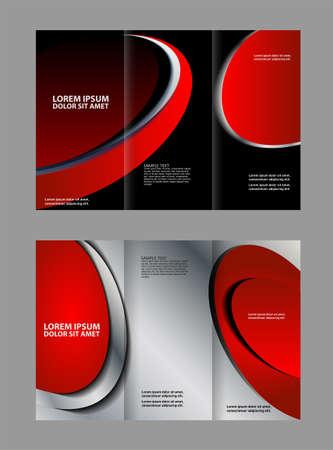 multipurpose: Tri-fold Brochure Design Vector Multipurpose and Catalog