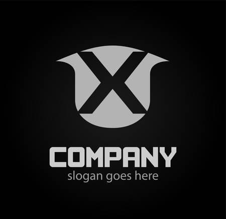 xy: Letter X logo