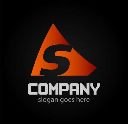 sch: Vector S logo icons