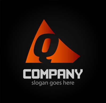q: Q Vector logo icons