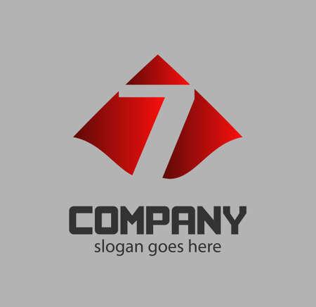 logotype: Vector 7 logotype design