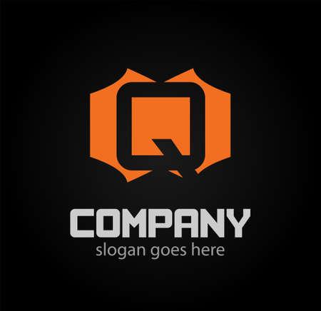 q: Q letter Vector illustration Logo