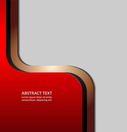 smooth background: abstract vector background with copy space.