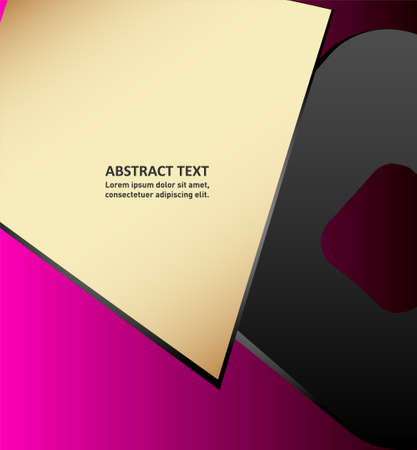 page layout: layout. Vector design of page