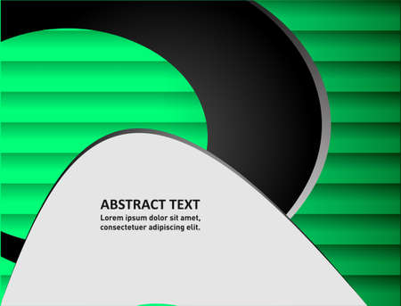 message board: 3d background vector overlap angle triangle dimension graphic Green text message and message board for shadow line for modern frame design web design