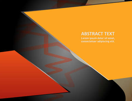 place for text: Abstract background with place for text