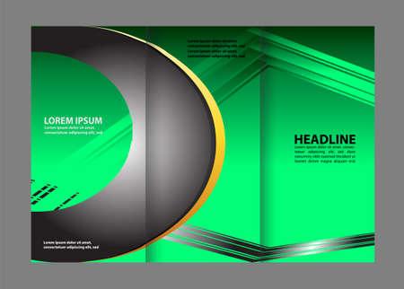 hold ups: Tri-Fold Corporate Business Store Brochure Design Mock up &