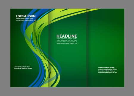 mock: Tri-Fold Brochure Design Mock Up