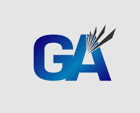 initial: GA initial group company Illustration