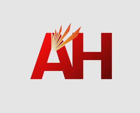 ah: AH Letter Illustration
